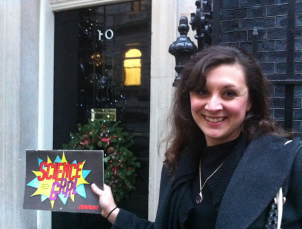 Anna Zecharia at No 10 roundtable