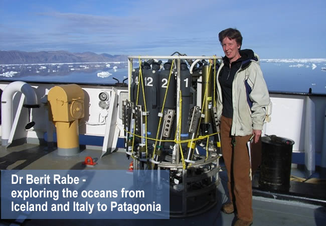 Dr Berit Rabe - a physical oceanographer