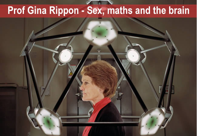 Professor Gina Rippon - Sex , maths and the brain