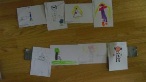 Examples of 'Draw a Scientist' from Lancashire Science Festival 2015