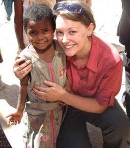 Lauren in Itremo, Madagascar (Photo: Mijoro Rakotoarinivo)