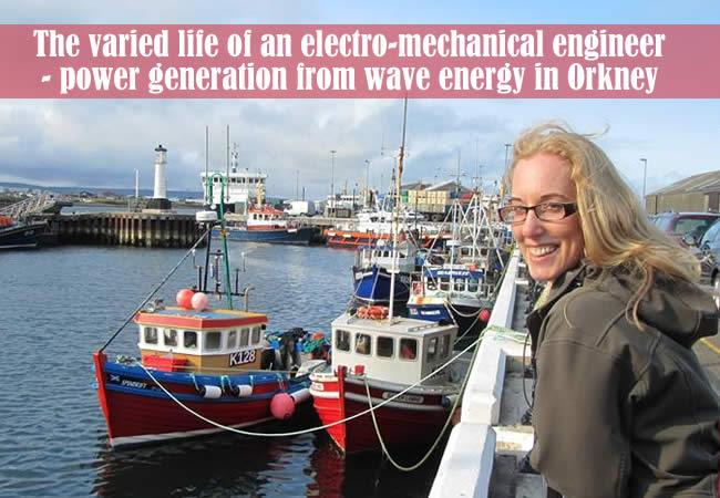 Lorna Slater - the varied life o an electro-mechanical engineer