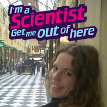 Rebecca Dewey - I'm a scientist get me out of here