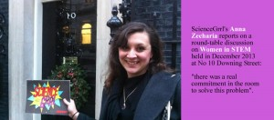 ScienceGrrl goes to Number 10