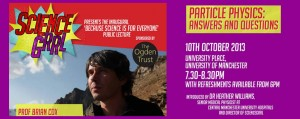 Celebrate our first birthday – with Prof Brian Cox and Gia Milinovich