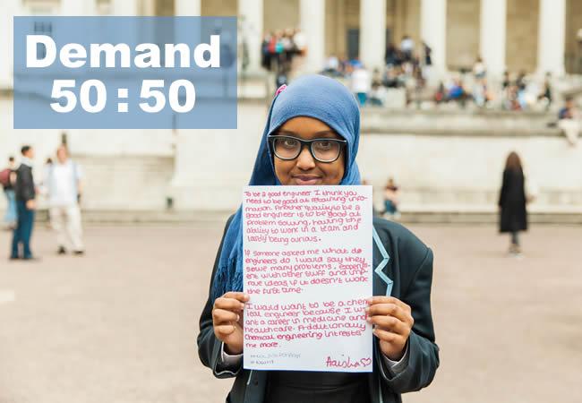 demand 50 50 UCL