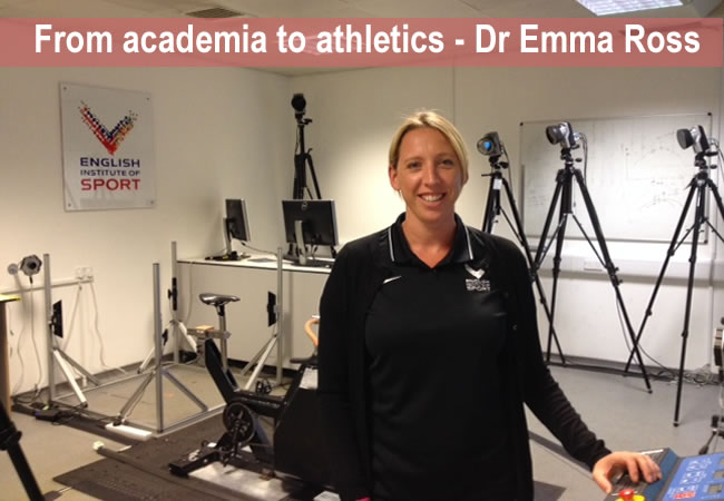 Dr Emma Ross - from academia to athletics