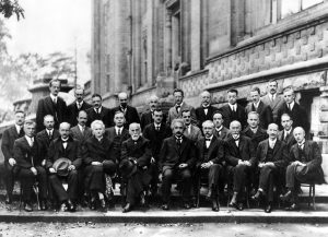 #iamaphysicist - at the Solvay conference, 1927