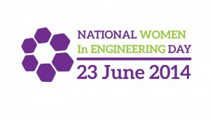 NAtional Women In engineering day logo