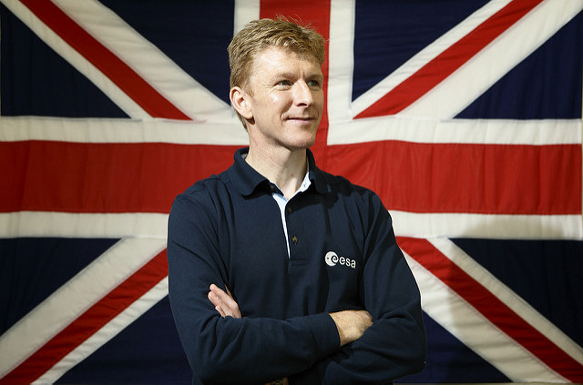 Tim Peake. He's British, in case you wondered (Photo: Dept of Business, Innovation and Skills on Flickr)