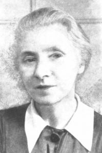 Photograph of Helen Ogilvie from her obituary, 1960