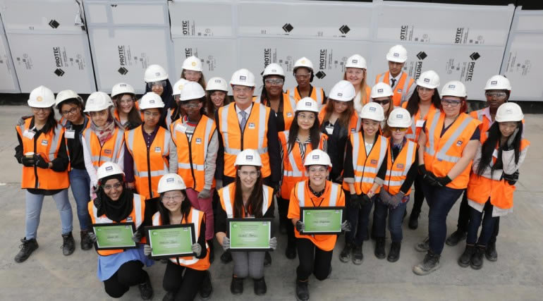 Crossrail celebrate the first National Women in Engineering Day