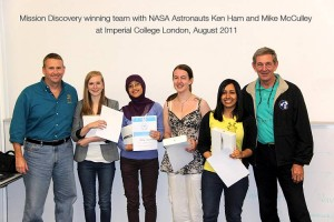 Previous Mission Discovery winning team