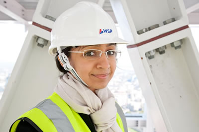 Roma Ggrawal, WSP at The Shard