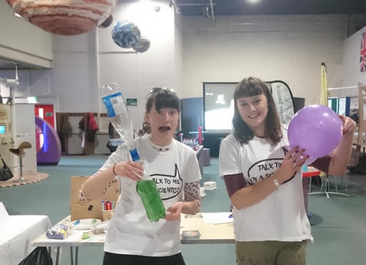 ScienceGrrl Aberdeen Fun day
